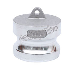 Тяжести литой алюминиевый пылезащитный колпачок пожарных гидрантов быстроразъемной муфтой