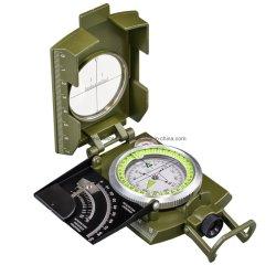 DC60-1A/6400 Lensatic Kompaß/Pocket Kompaß/Militarycompass/russischer Kompaß mit Vorwahlknöpfen 360-Deg/6400-Mil, Inklinationskompaß (0-90 Grad) und der Schwingung-Dämpfung Flüssigkeit
