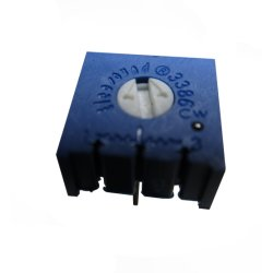 Et sans bouton3386f potentiomètres carré DIP Sans plomb/RoHS