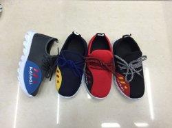 Nouveau-né des chaussures à semelle souple pour bébé bébé respirant Sneaker