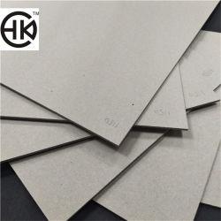 Recubierto de papel de impresión de 1100 gramos de pulpa reciclada Tabla gris