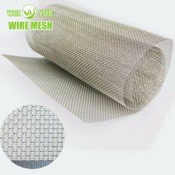 Planície de malha 40 Tecidos de malha de arame de aço inoxidável a poeira e a Tela do Filtro de Óleo