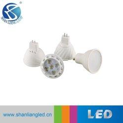 Ce RoHS approbation avec l'aluminium plastique PBT Spot à LED 3 W