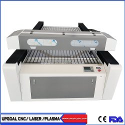 Große Acryl-CO2 Laser-Ausschnitt-Maschine 1300*2500mm 4*8feet
