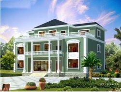 Le design professionnel en Europe trois couches de style Structure en acier préfabriqués Villa Maison