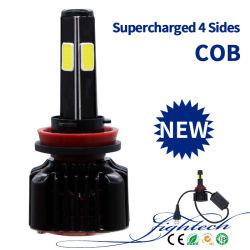 35W HID 제논 밸러스트 및 LED 차량용 헤드라이트 COB Soucre The Factory 포함 높이 품질 LED 헤드라이트(6000K H1 H3 H7 H11 880 881 9006 9005)