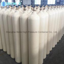Commerce de gros Prix le plus bas 40L cylindre en acier pour l'oxygène de l'Argon