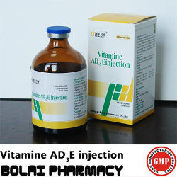 Product van de Gezondheidszorg van de Injectie van de vitamine Ad3e het Dierlijke