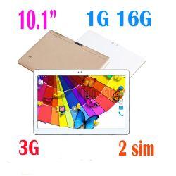 """10.1""""1280X800pixels 3G6580 CPU Quad Core Android6.0 Mtk ligando Phone Tablet PC com marcação e K107-3RoHS (G)"""