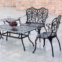 Presidenze di campeggio della Tabella del giardino del patio dell'alluminio leggero esterno della mobilia