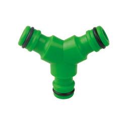 Acoplador de plástico ABS de 3 vías adaptador de acoplamiento de manguera