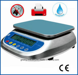 De elektronische het Wegen van de Precisie Draagbare Waterdichte Schaal van de Schaal 30kg