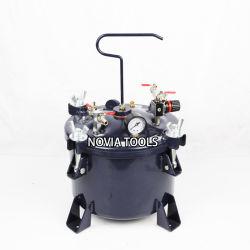 10 litros /2,65 galones de pintura de olla de presión neumática central/depósito