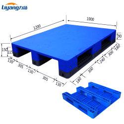 De HDPE PP Euro de Aço Reforçado montável em rack de pés planos suaves de paletes de plástico reciclado