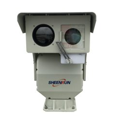 Monitoramento de segurança à prova de fogo florestal PTZ câmara térmica de longo alcance