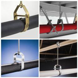 Crochet de suspension de la chape en acier au carbone le collier de tuyau