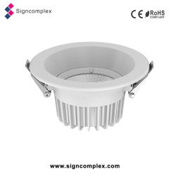 100-240 V montage en surface COB Downlights LED de 4 pouces 12W Plafond à LED