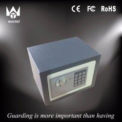 17e steuern Gebrauch-elektronischer Kennwort-Stahlplatten-Schlüssel-sicheres Kasten-Schwarzes automatisch an