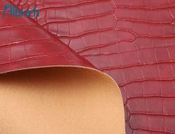 تماسيح ثعبان تصميم نسيج جلدي صناعي للحقيبة