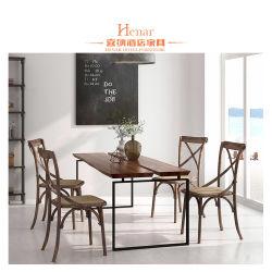 Madera maciza mesa y silla / Muebles de Comedor