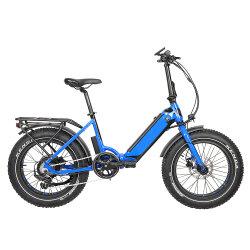 Самый быстрый 20-дюймовый 48V 500 W в середине аккумуляторной батареи с электроприводом складывания велосипеда с подвесным двигателем с электроприводом Sepeda Listrik E-велосипед 5 - РЫЧАГ ЖК-Спорт, мягкие удобные, Sr с сиденья Comfort