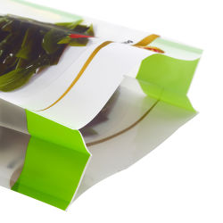 La fábrica de la bolsa de refuerzo lateral personalizada Quad el lado del sello de órgano de refuerzo de la bolsa de embalaje de alimentos
