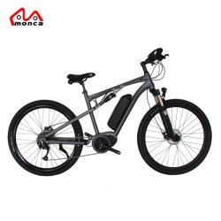 Le transport vélo électrique à haute vitesse Shimano milieu vélo électrique 500 W du moteur