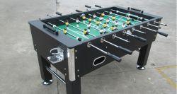 Professioneller attraktiver deluxer Foosball Fußball-Tisch mit Getränk-Becherhalter-Spitzenqualitäts-Stufen-Materialien zu sehr niedrigem Preis