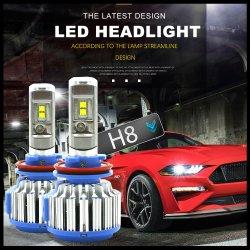 Светодиодный индикатор T1 автомобильная лампа H4 Hi Lo индикатор дальнего света фары лампы H7, H1, H11 9006 9005 H27/880 Авто лампу фары 6000K лампа