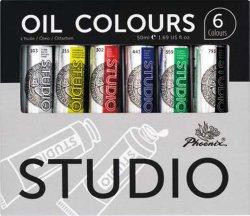 Studio Art Paint Tubo de alumínio, Aluno do Óleo de Ajuste