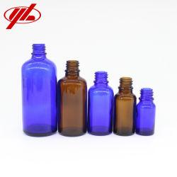 10ml 20ml 30ml 50ml 100ml orange clair Bleu Vert Bouteille de verre d'huile essentielle pour les cosmétiques