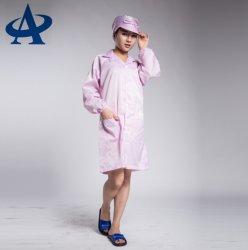 ほこりのない帯電防止ESDポリエステルクリーンルームの衣服