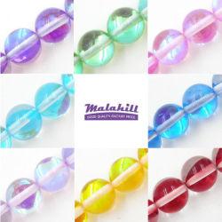 De Parels van het kristal voor Maken van Juwelen (Verkocht per Bundel 15.5 Duim)