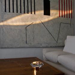 Creative Crystal Stone Table Lamp Hotel 로비 레스토랑 램프 조명