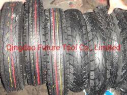 高品質の一輪車のタイヤ、400-8手押し車タイヤおよび管