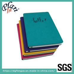 Moda personalizada Casebond portátil PU Libro Diario de papelería de oficina y para la escuela