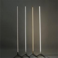 簡単な床ランプの調査の寝室の金属ラインストリップ永続的なランプデザイナー創造的なホーム装飾の照明設備