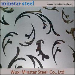 304のカラーステンレス鋼の版の青銅