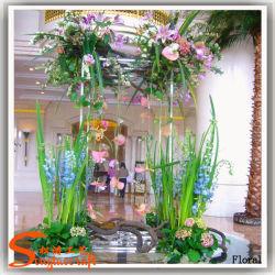 Fiore artificiale della plastica del mazzo di cerimonia nuziale di migliori prezzi