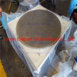 Tubesheet forgiato per lo strato perforato di titanio di titanio del gruppo di tubo dello scambiatore di calore