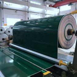 Transportador de correia de cinto de PVC verde de alta qualidade de cor branca para o sistema do transportador de correia de PU