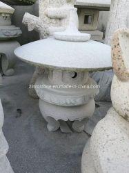 Lâmpada de Pedra Natural mais barato da lanterna de granito para jardim / paisagem do Parque