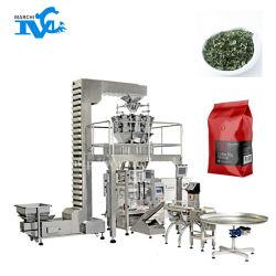 Sacchetto della pellicola del tè verde che forma la macchina per l'imballaggio delle merci di riempimento e di sigillamento del tè