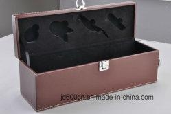 Люкс прилив вино подарочной упаковки/текстуры подарок бумага обрамления вино в салоне с магнитным закрытие вино или для украшения упаковки
