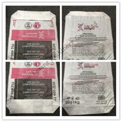 De papier-Plastic pp Geweven Zak van kraftpapier voor het Chemische product van de Verpakking met Klep