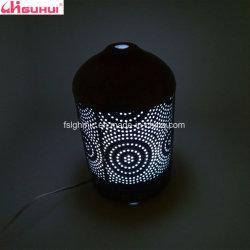 Lámpara de Aceite esencial de la Oficina Aroma Difusor con cubierta de metal