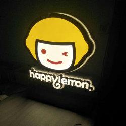 Caixa de Luz luminoso LED cartas com letra de logotipo retroiluminado