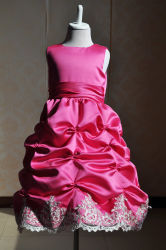 Children's robe de soirée robe de princesse de gaze Flower Girl Dress