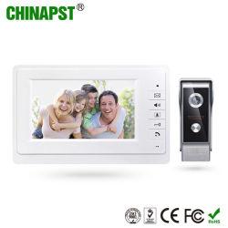 Heißes Farbe LCD-Bildschirm-Freisprechlandhaus-videotür-Telefon-Installationssatz des Verkaufs-7inch (PST-VD07L)