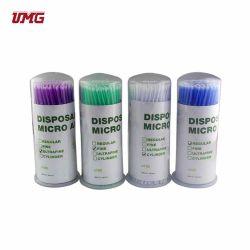 Material dentário aplicadores Micro Dentária descartáveis